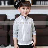 T-BH509 Boys Private Label Zip Up Sweatshirts without Hood