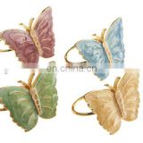 Butterfly Meadow Napkin Rings, Set of 4, Multi