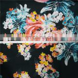 Digital Print Knit Fabric 95% Rayon 5%spandex Rayon Elastic Single Jersey Fabric