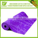 Promotional Logo Printed Rubber Yoga Mat