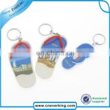 Custom square shape metal keychain for promotion
