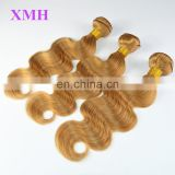 Juancheng XMH Hair Factory Wholesale Body Wave Blonde Brazilian Hair Color 27