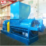India rubber block cleaning single helix breaking crushing cleaning machine