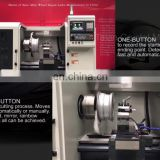 Wheel Fix CNC Machine Rim Diamond Cutting CNC Lathe AWR28H