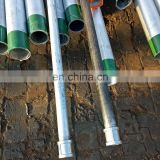Hot dip steel galvanized pipe for construction