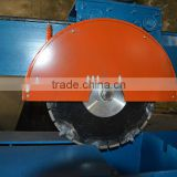best quality otr tire blocks recycling machine/used otr tire cutting equipment