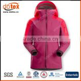 2016 windbreaker waterproof fashion women rain casual jacket