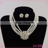 2015 fashion freshwater pearl necklace jewelry set                                                                         Quality Choice