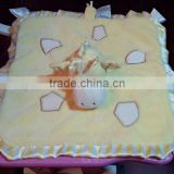 animal blanket/baby blanket animal pattern/animal head blankets