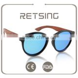 Cheap Custom Plastic Frame Polarized Bamboo Sunglass Handmade Bamboo sunglasses polarized