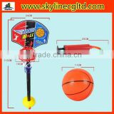 Board lifting basketball stand with the basketball inflator,children sports toys