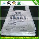 plastic collection bag for cloth recycle / printed t-shirt bag / child cloth recycling bag