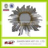 Metal Frame decorative wall mirror indoor wall art                                                                         Quality Choice