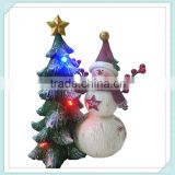 Most popular products led wholesale christmas resin snowman                                                                                                         Supplier's Choice