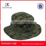 Outdoor Leisure Sports Quick-drying Plain Camo Green Cotton Bucket Camouflage Fishing Cap