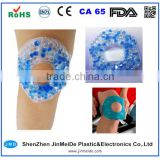 Mixed Beads Cold Knee Wrap / Strain Relief Gel Beads Hot Cold Pack Therapy with Velcor Strap