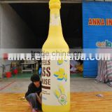 Outdoor new inflatable beer bottle , inflatable replica                                                                                                         Supplier's Choice