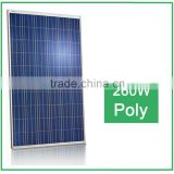 High Quality 260w poly solar panel for solar power system , for off-grid solar system, for home use