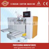 Semi-auto corrugated carton stitching stitcher machine corrugated carton box making machine