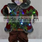 XM-A6100 36 inch lighted life size bear with dancing and moving function for home decoration