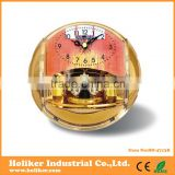 funny design basketball shaped plastic office table clock