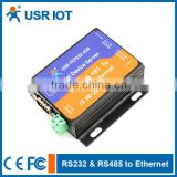USR-TCP232-410 Serial to Ethernet /RJ45 Converter RS232 RS485 to TCP/IP Server High Quality
