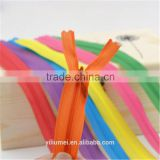 high quality wholesale zipper factory whykk open end ykk nylon waterproof zipper for bags