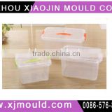 plasitc injection mould for household container mould manufacturing factory