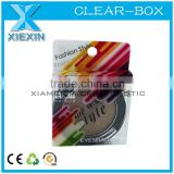 cosmetic small clear plastic packaging boxes