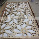 High-level hollow pattern capiz shell panel screen,decorative material