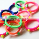 hot selling rivets elastic colourful girls hair band