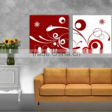 Cheap wholesale custom flower oil painting canvas