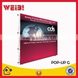 Advertising Light Weight Trade Show Pop Up Display