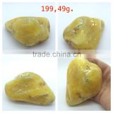 Polished Natural Baltic Amber stones weight 199.49 g., Amber raw stone