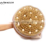 Shenzhen factory supply soft bristles brush for scrubbing back