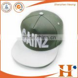 Factory wholesale cheap custom metal plate snapback hat                                                                         Quality Choice