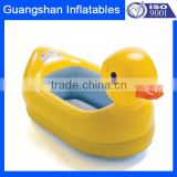 Inflatable Plastic Duck Bath Pool For Kids