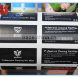 Aluminum Foil Laminated Paper for cleaning nails wipes