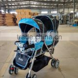 China baby stroller with 8 wheels baby trend double stroller