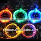 bags shoes boots decoration led sparkle lights luminescent fiber optic