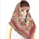 Factory direct sale fiber flax muslim hijab,turban,arabian islamic scarf