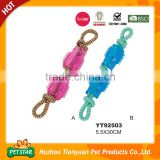 Strong Resisitance To Bite Durable Chew TPR Rope Dog Toy
