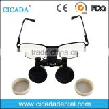 CICADA Jeweler loupe 2.5x 3.5x dental medical surgical binocular loupes with CE Approved