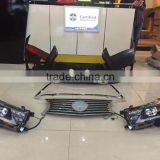 Manufactuer auto accessories 2014 Toyota Corolla Bumper + front grille with LEXUS model                                                                         Quality Choice                                                                     Supplier'