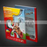 Self adhesive inkjet photo paper/inkjet photo sticker paper/back glue paper