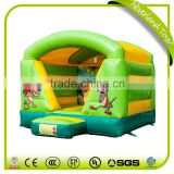 New Design Entertainment Mini Jungle Avec Toit China Bounce House Inflatable Cubby House Commercial Jumping Castles Sale