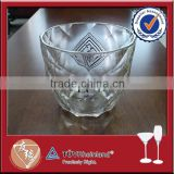 Widely use engraved glass pineapple ice bucket