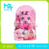 2016!Funny Pony series wadding horse with music baby doll,two models mixed ZT9920