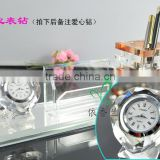 china wholesale crystal stationery for office decoration or business gift