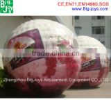 Best seller printed grape inflatable human sized hamster ball for sale adult/ kids hamster ball